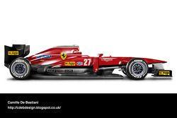 Auto Retro F1 - Ferrari 1982