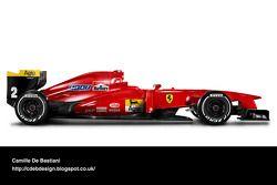 Auto Retro F1 - Ferrari 1990