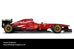 Auto Retro F1 - Ferrari 1996