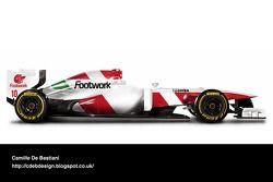Auto Retro F1 - Footwork 1993