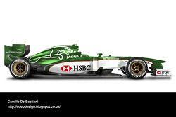 Auto Retro F1 - Jaguar 2000