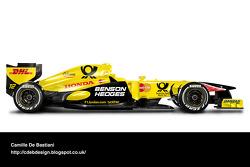 Retro F1 - Jordan 2001