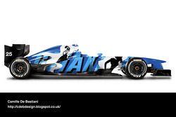 Retro F1 car - Ligier 1993