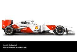 Auto Retro F1 - McLaren 1992