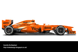 McLaren 1997 pre-season