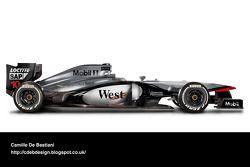 Auto retro de F1 - McLaren 1997