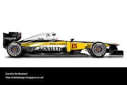 复古F1涂装 - 雷诺 1982