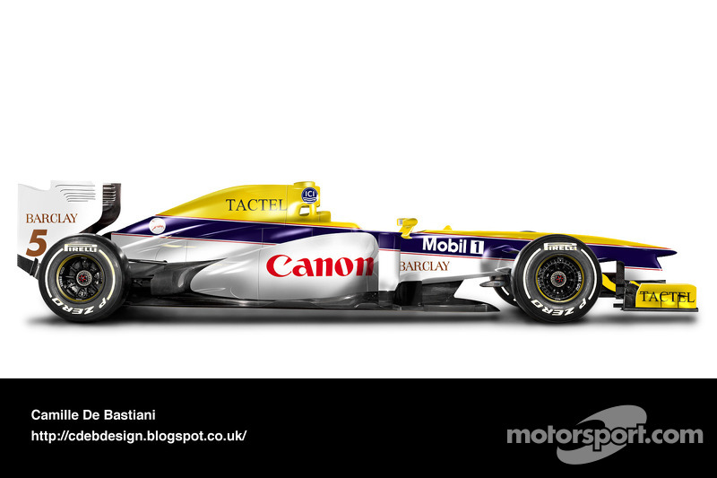 Auto Retro F1 - Williams 1988