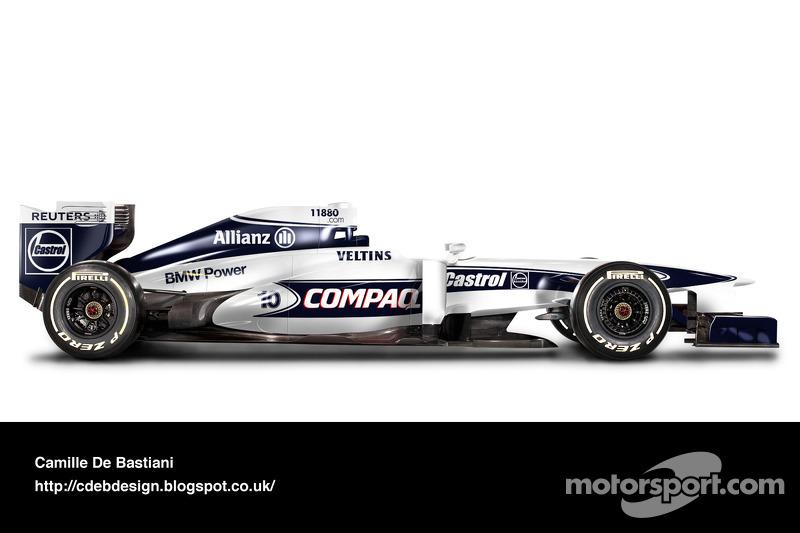 Auto Retro F1 - Williams 2000