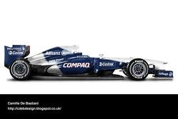 Retro F1 car - Williams 2001
