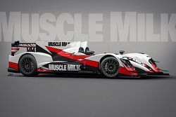 The Muscle Milk Pickett Racing ORECA 03