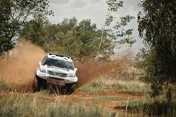 Giniel de Villiers tests the Toyota Hilux
