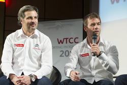 Yvan Muller e Sébastien Loeb