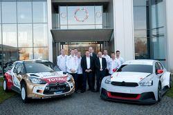 Presentación de pilotos y autos para el 2014