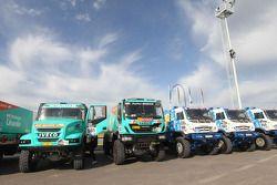 Caminhões para vistoria técnica
