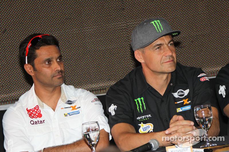Nasser Al-Attiyah和Krzysztof Holowczyc