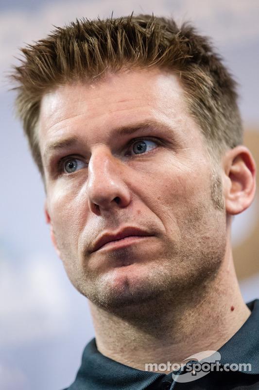 Coletiva de imprensa da Chip Ganassi Racing: Jamie McMurray