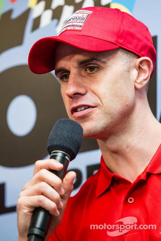 Coletiva de imprensa da Chip Ganassi Racing: Marino Franchitti