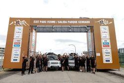 Land Rover takım fotoğrafı