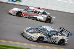 #81 GB Autosport 保时捷 911 GT America: 达米恩·福克纳, 帕特里克·许士文, 鲍勃·法耶塔, 迈克尔·阿韦纳帝, #0 DeltaWing 赛车 DeltaWing