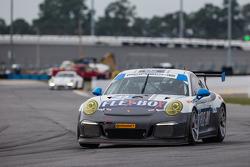 #44 Magnus Racing Porsche 911 GT America Porsche: John Potter, Andy Lally