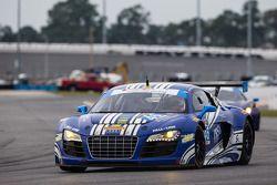 #46 Fall-Line Motorsports Audi R8 LMS: Charles Putnam, Charles Espenlaub, James Walker, Oliver Jarvi