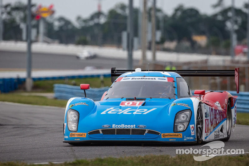 #01 Chip Ganassi Racing Riley DP 福特 EcoBoost: 斯科特·普鲁厄特, 梅莫·罗哈斯, 杰米·麦克穆里, 塞奇·卡拉姆