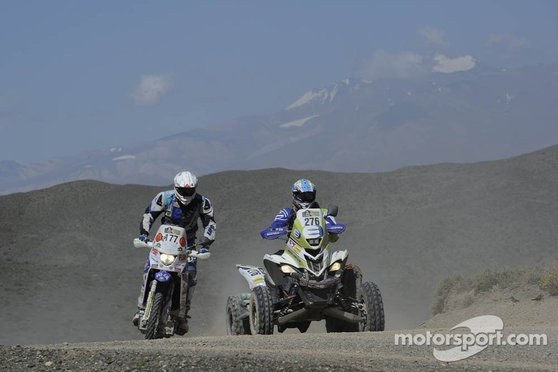 #177 雅马哈: Francesco Catanese 和 #276 雅马哈: Jeremias Ferioli