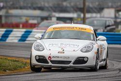 #24 Autometrics Motorsports Porsche Cayman: Cory Friedman, Mac McGehee