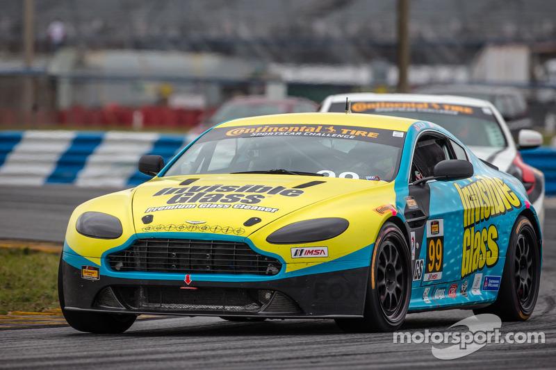 #99 Automatic Racing 阿斯顿马丁 Vantage: 小罗伯·埃克林