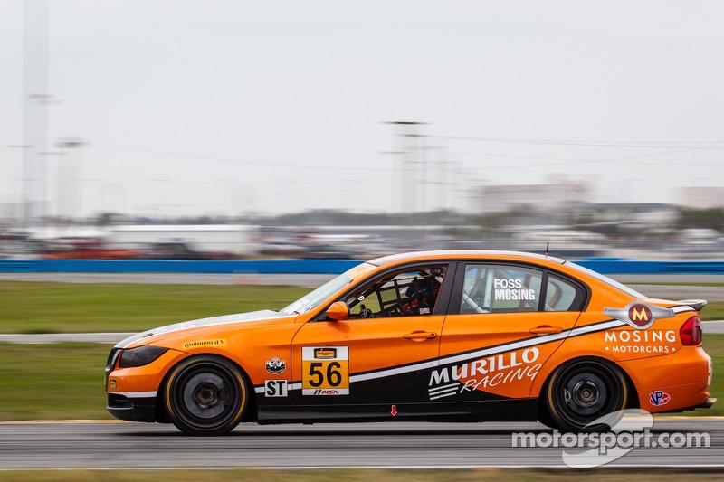 #56 Murillo Racing 宝马 328i: 肯尼斯·莫辛, 埃里克·福斯