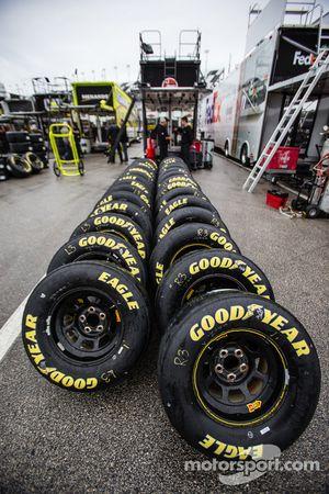 Goodyear tires in the rain