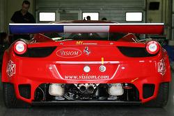 #18 VISIOM 法拉利 F458 GT: Jean-Paul Pagny, Thierry Perrier, Jean-Bernard Bouvet, Benjamin Roy