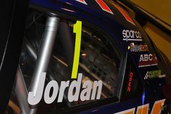 Andrew Jordan, Number 1