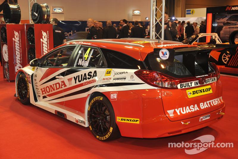 2014 BTCC Honda Yuasa Racing Civic Tourer Estate