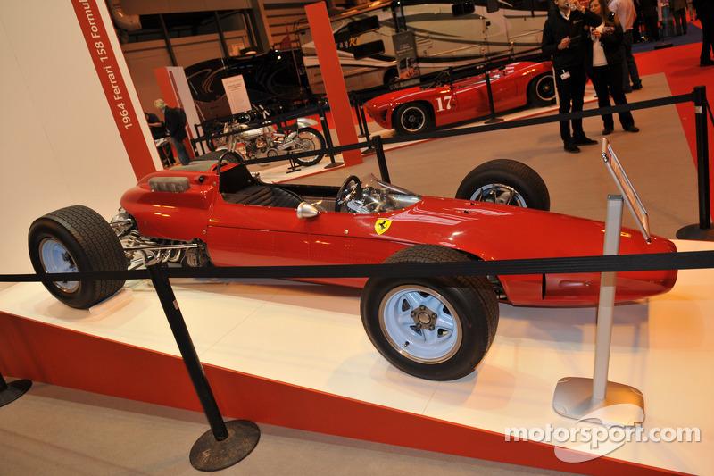 John Surtees vincitore del Campionato F1 Ferrari