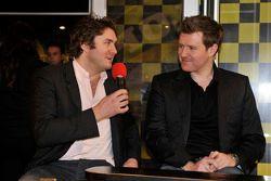 New Welch Motorsport BTCC team mates Dan Welch and Ollie Jackson