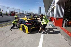 #140 Boutsen Ginion Racing Renault Megane Trophy: Christophe de Fierlant, Massimo Vignali, Renaud Kuppens