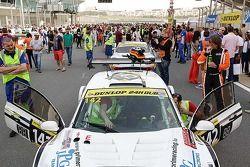 #142 GC Automotive Facteury GC 10 V8: Philippe Cimadomo, Jean-Pierre Lequeux, Franck Provost, Christophe Cappelli