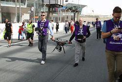 A camera drone