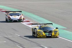 #136 Gravity Racing International Mosler MT 900 GT3: Vincent Radermecker, Andy Ruhan, Loris de Sordi, Gerard Lopez, Eric Lux