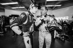 Rusty Wallace après sa démo avec Brad Keselowski, Team Penske Ford