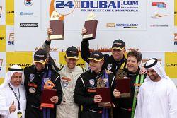 领奖台:比赛获胜者 Mark Ineichen, Rolf Ineichen, Marcel Matter, Adrian Amstutz, Christian Engelhart