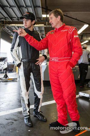 Chase Elliott et Bill Elliott