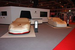 Porsche Stand Before opening