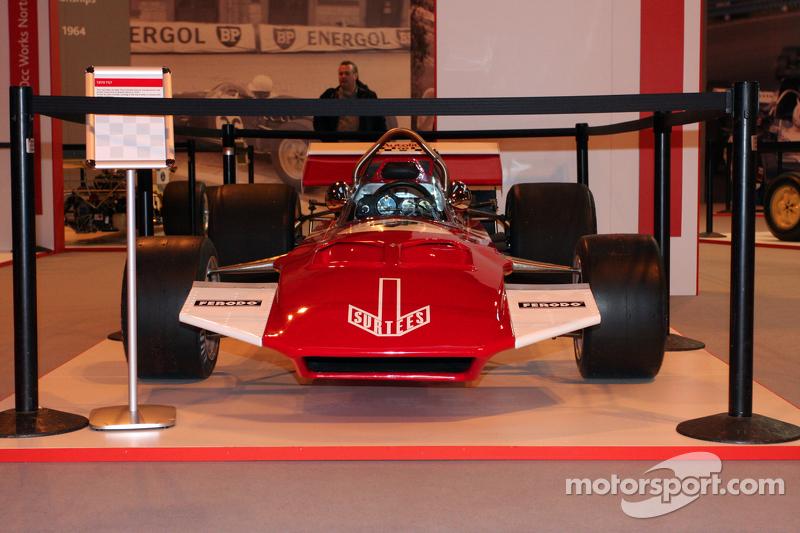Muestra del coche F1 de John Surtees en 1970
