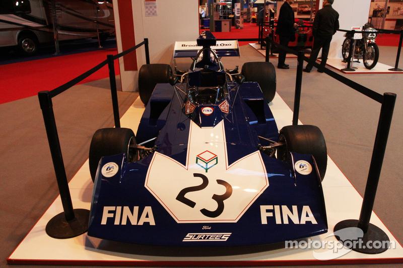 Muestra del coche F1 de John Surtees