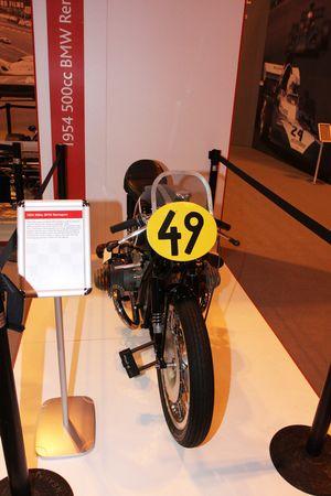 Colección John Surtees, moto 1954 Bmw 500cc