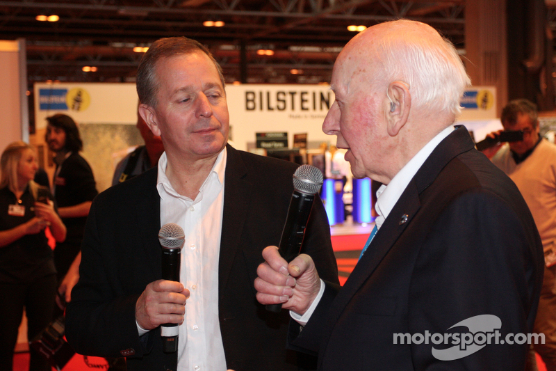 John Surtees ve Martin Brundle