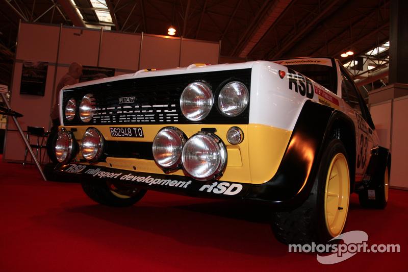Fiat vintage da rally